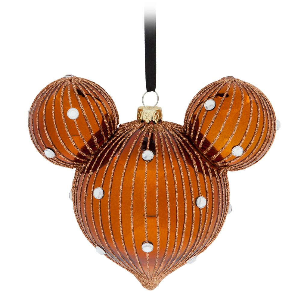 Mickey Mouse Icon Drop Ornament – Belle Bronze