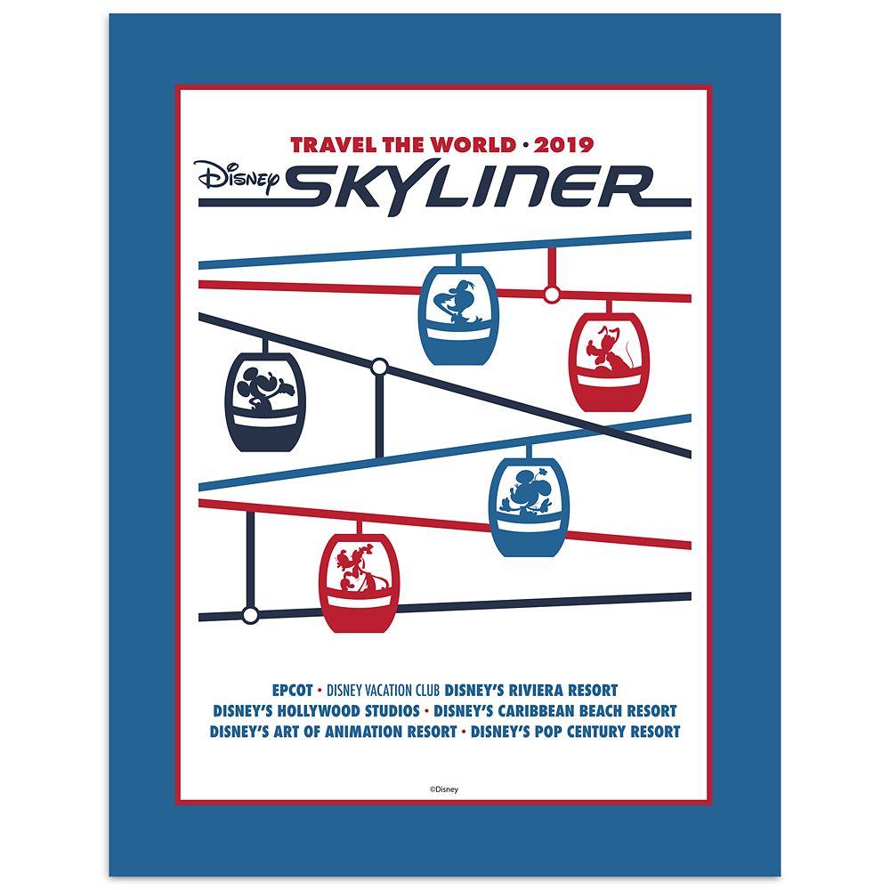 Disney Skyliner Deluxe Print