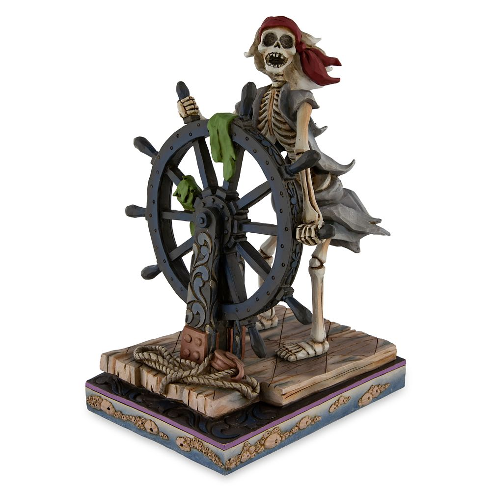 Pirates of the Caribbean Helmsman Figure by Jim Shore