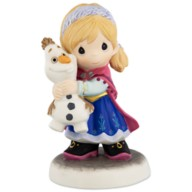 Anna and Olaf ''You Melt My Heart'' Figurine by Precious Moments