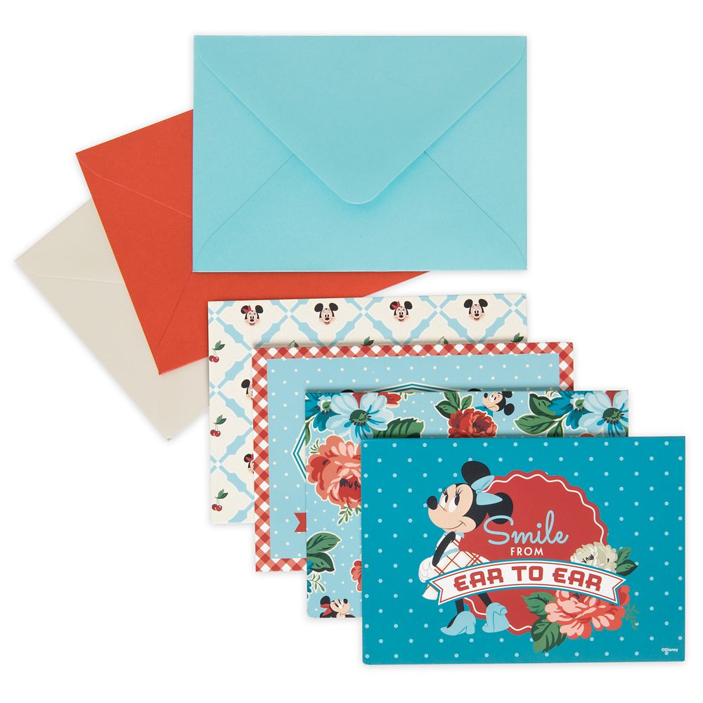 Homestead Collection Disney Parks Blank Notecards Set of 12 NEW