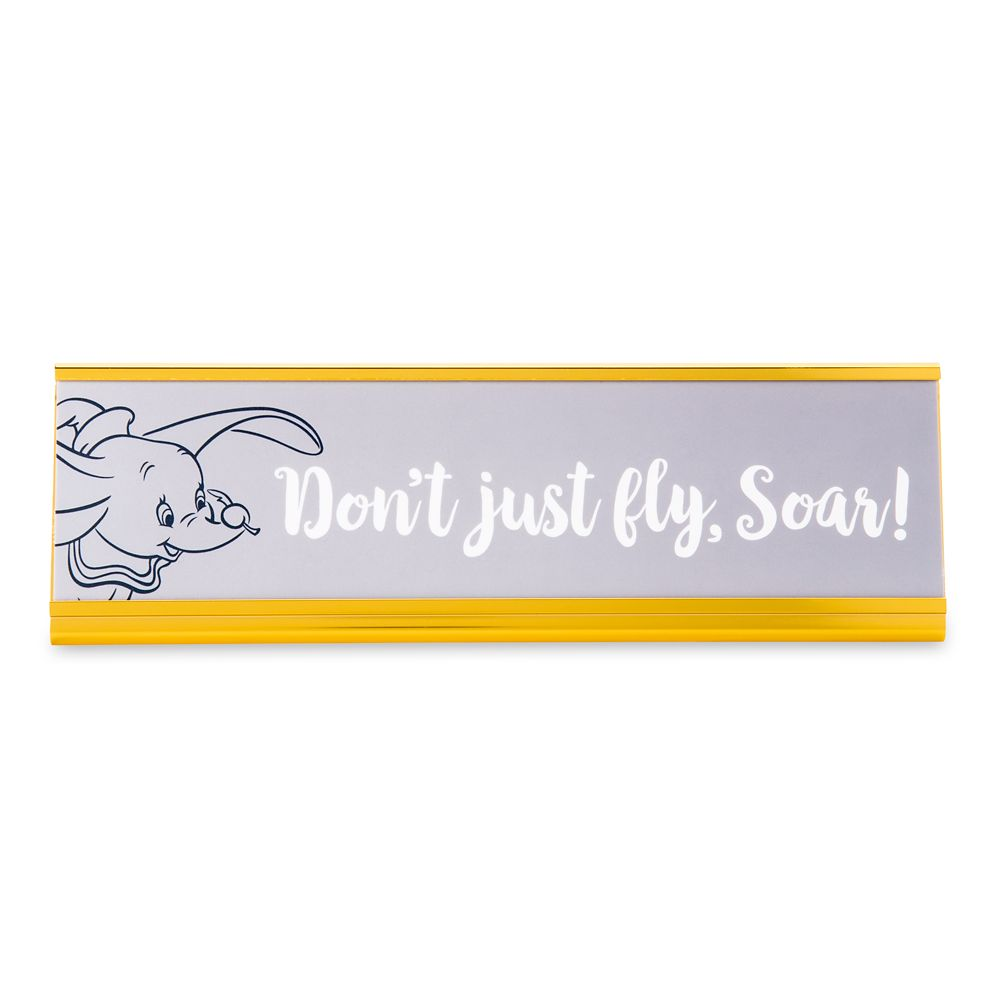 Dumbo Desk Nameplate