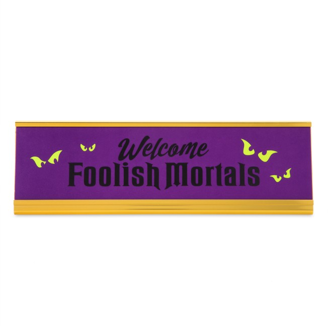 The Haunted Mansion Desk Nameplate