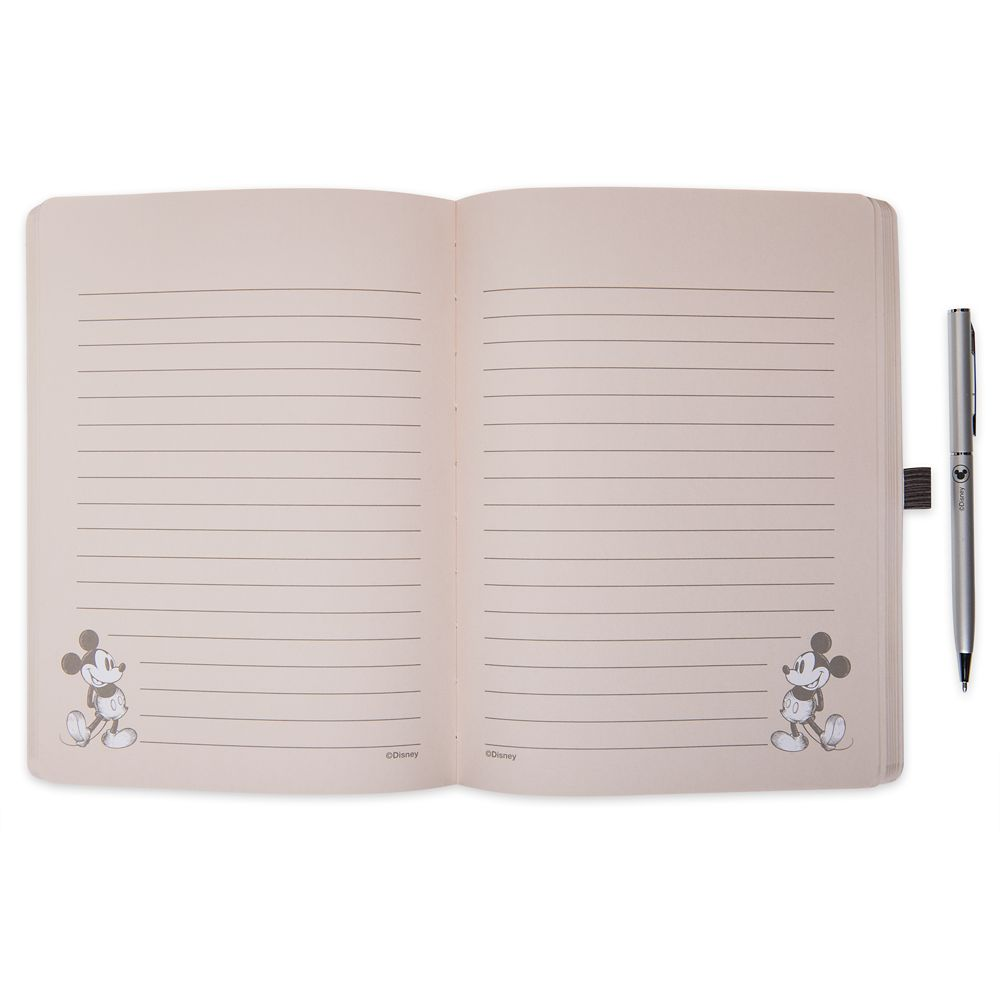 Mickey Mouse Journal and Pen Set – Disney Homestead Collection