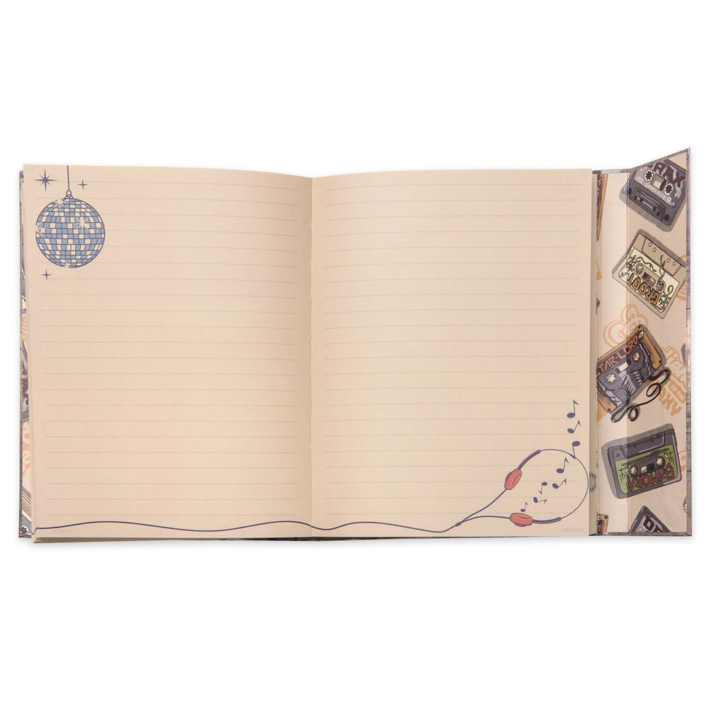 Guardians of the Galaxy Awesome Mix Journal