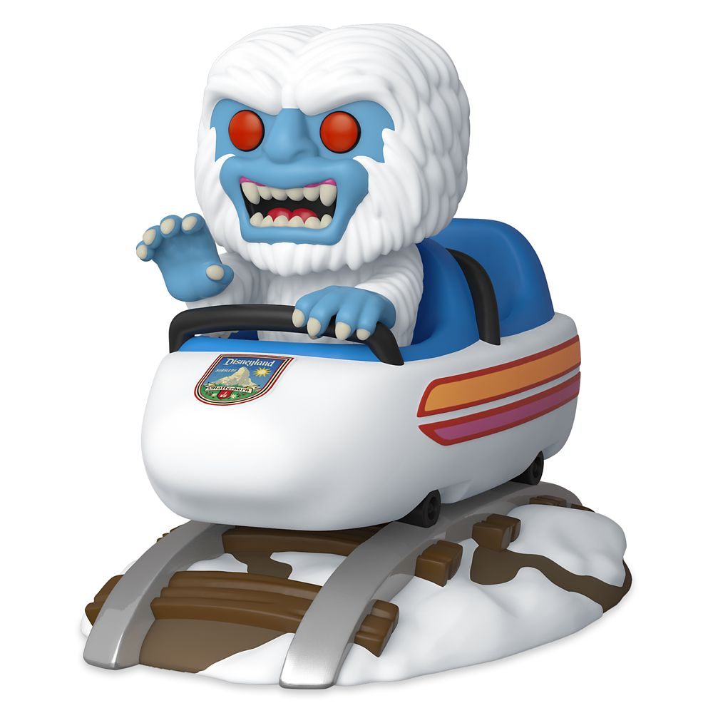 Matterhorn Bobsled with Abominable Snowman Pop! Rides Vinyl Figure by Funko