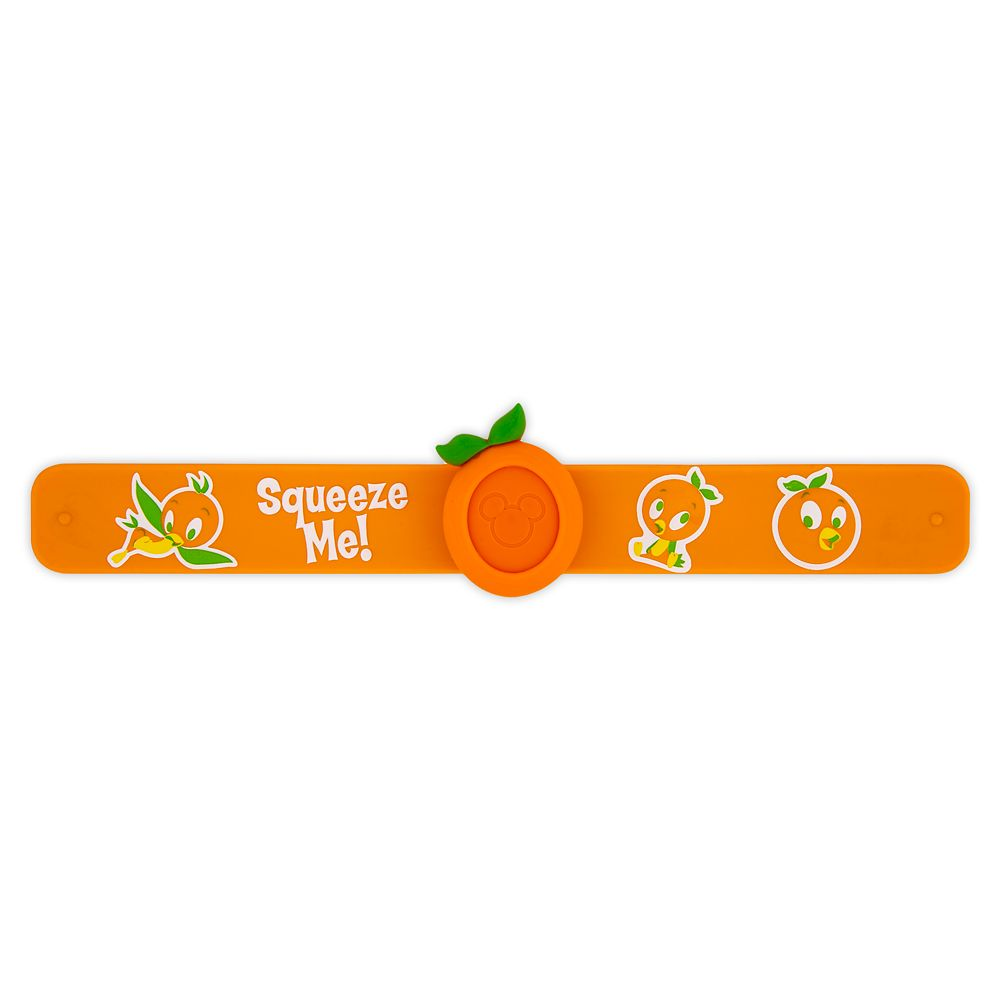 Orange Bird MagicBand Slap Bracelet