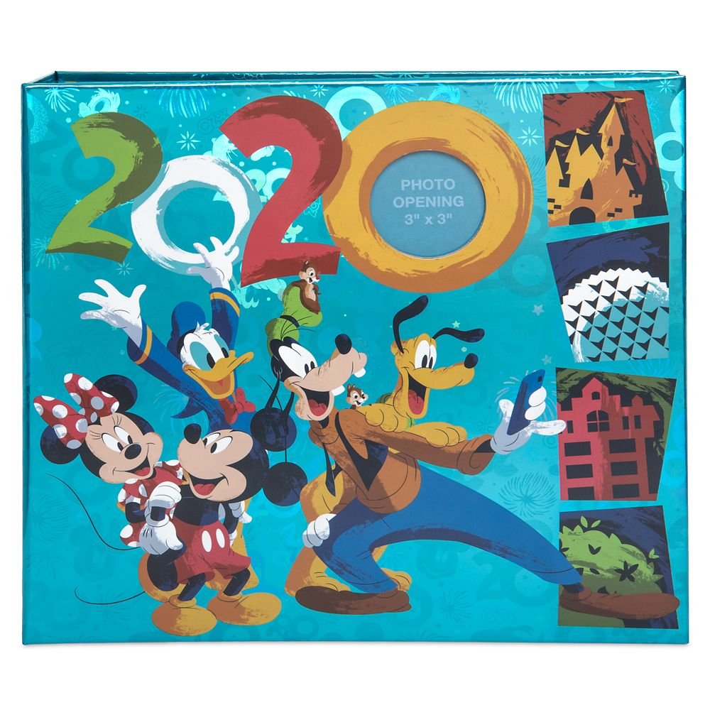 Mickey Mouse and Friends Photo Album – Walt Disney World 2020 – Medium