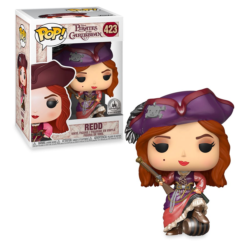Redd POP! Vinyl Figure by Funko – Pirates of the Caribbean – Limited Release