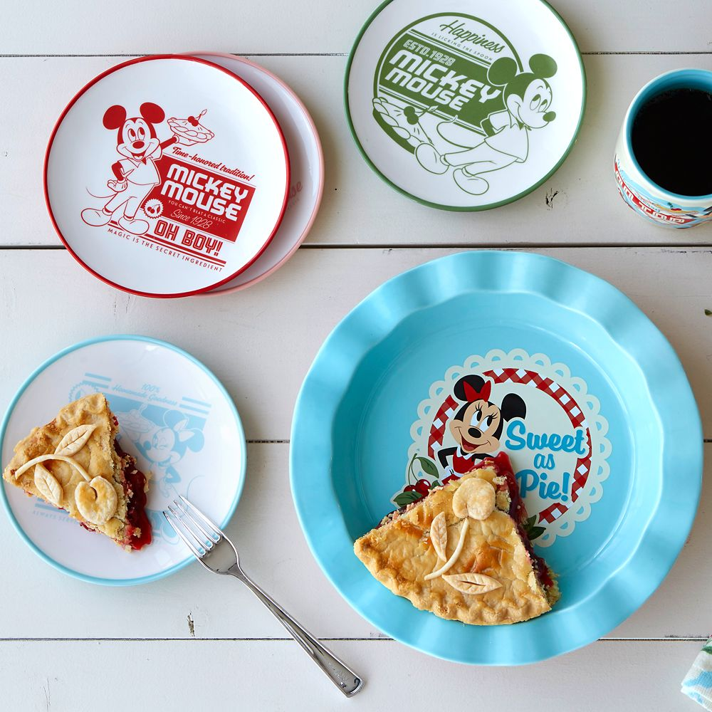Minnie Mouse Retro Pie Dish
