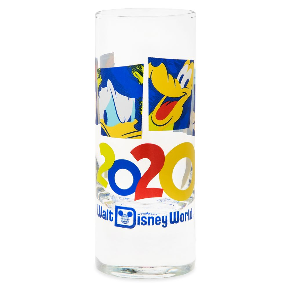 Mickey Mouse and Friends Mini Glass – Walt Disney World 2020