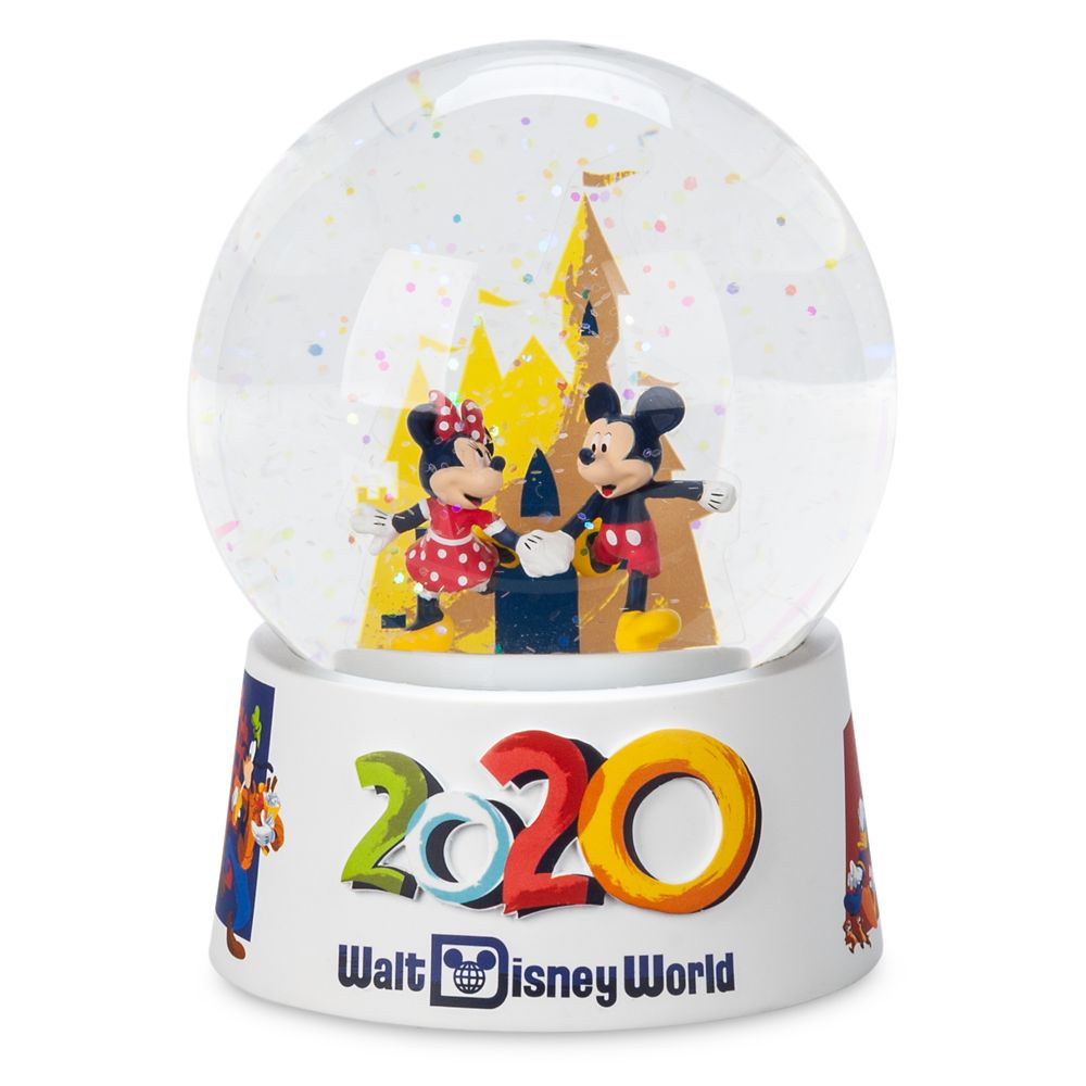 Mickey and Minnie Mouse Mini Snowglobe – Walt Disney World 2020