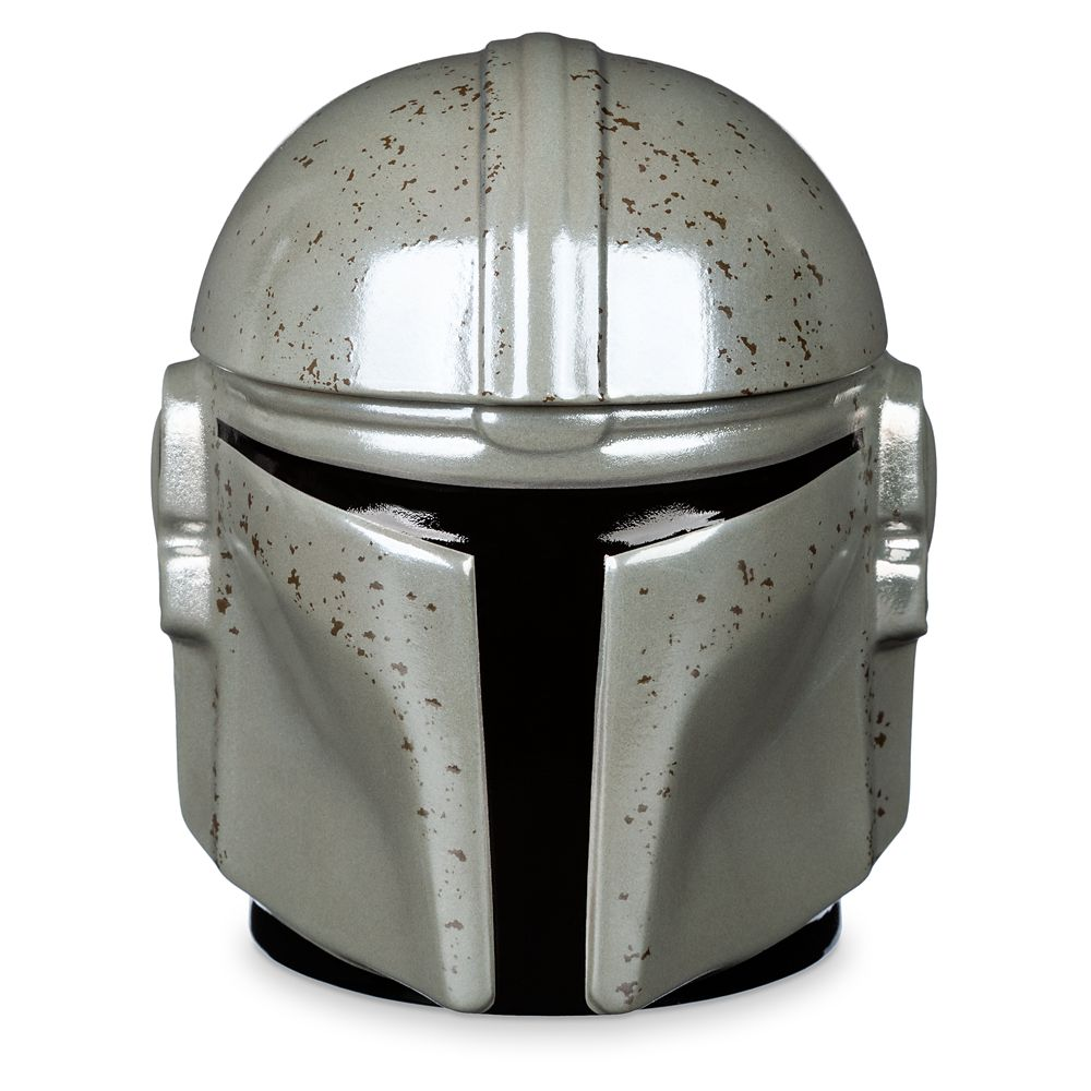 The Mandalorian Helmet Mug with Cover – Star Wars