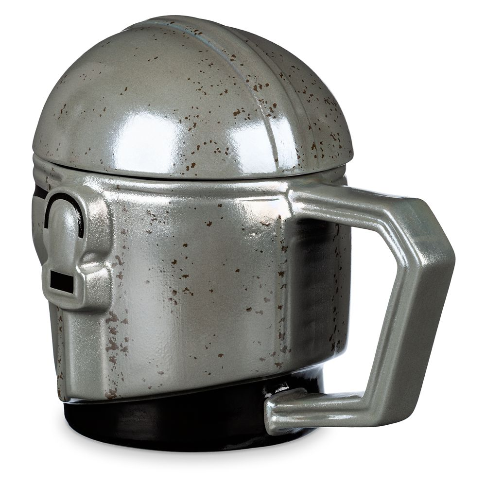 The Mandalorian Helmet Mug with Cover – Star Wars