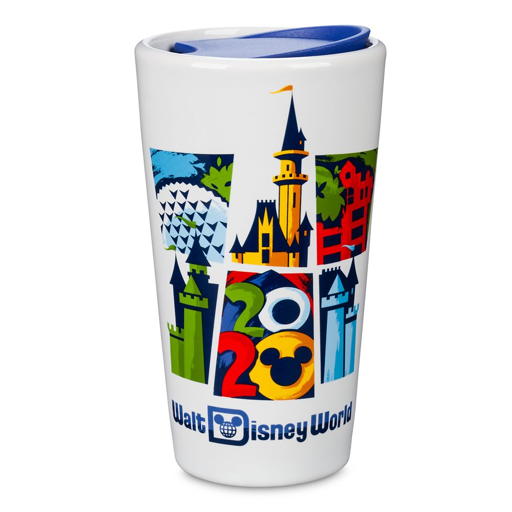 Walt Disney World 2020 Ceramic Travel Tumbler