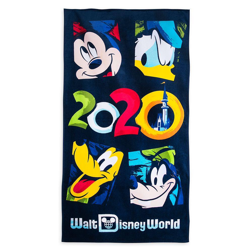 Mickey Mouse and Friends Beach Towel – Walt Disney World 2020