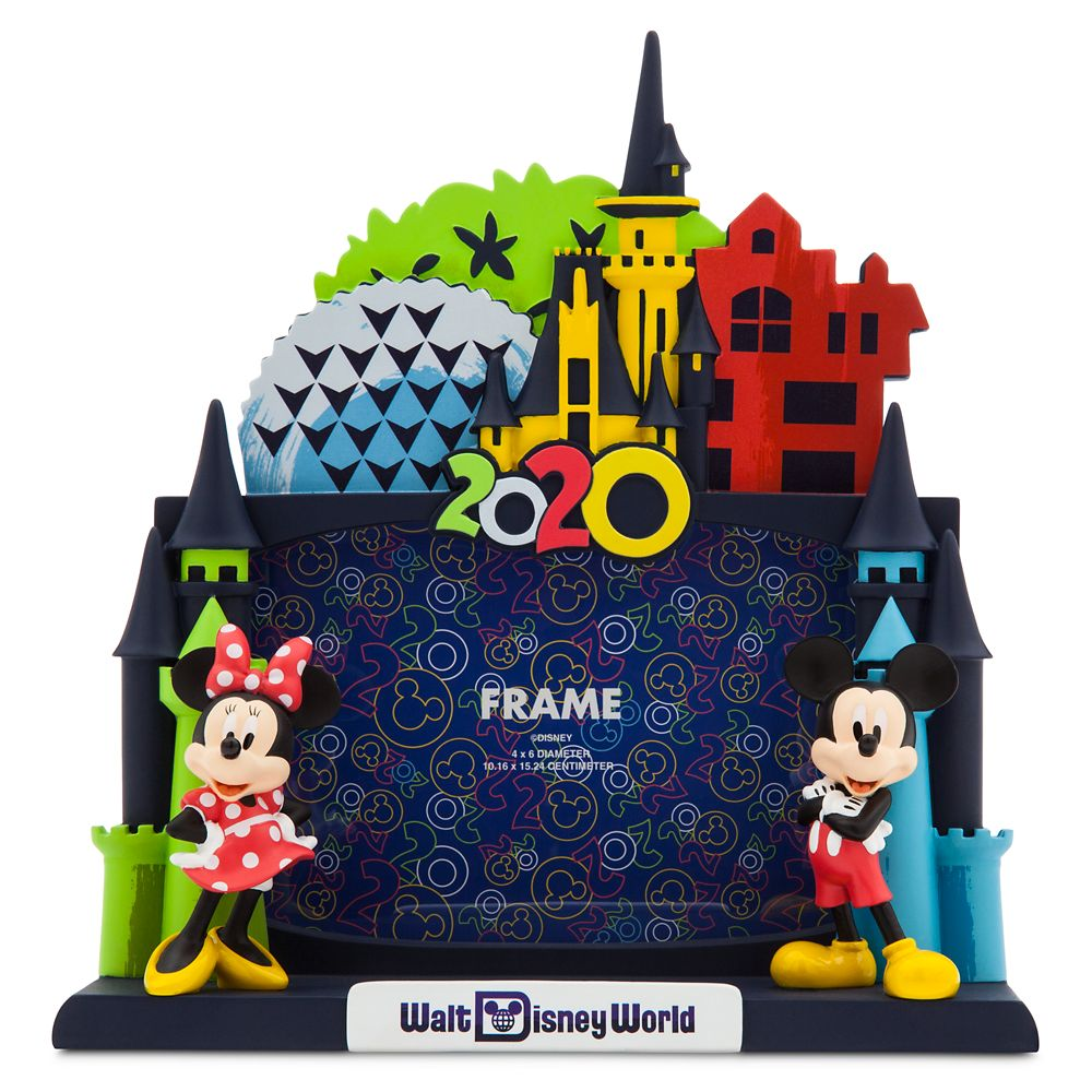 Mickey and Minnie Mouse Dimensional Photo Frame – Walt Disney World 2020