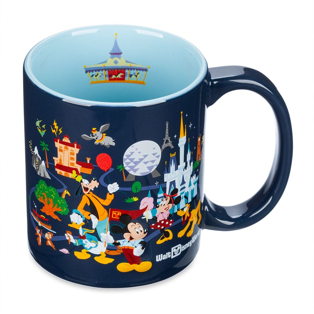 Mickey Mouse and Friends Mug – Walt Disney World