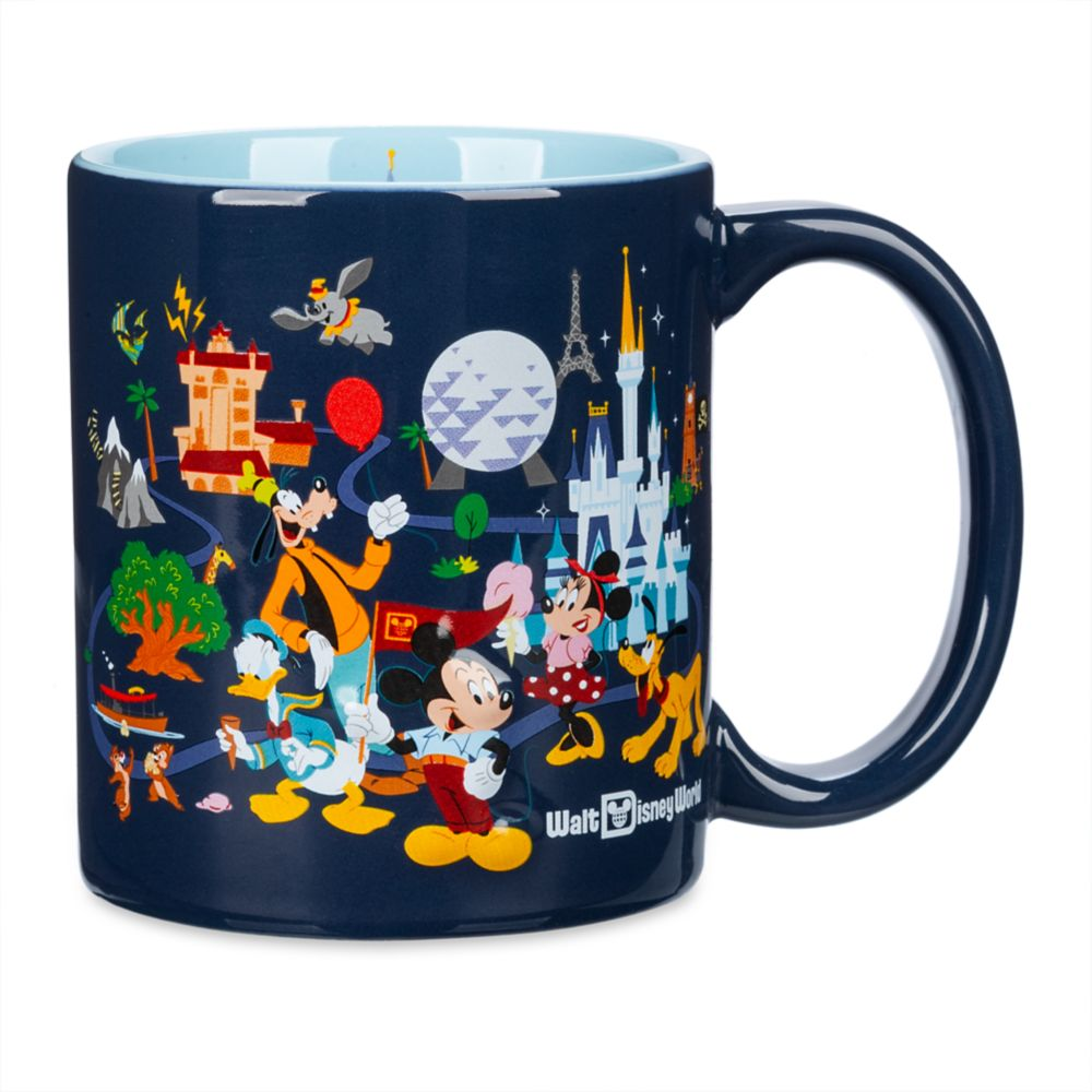 Mickey Mouse and Friends Mug – Walt Disney World