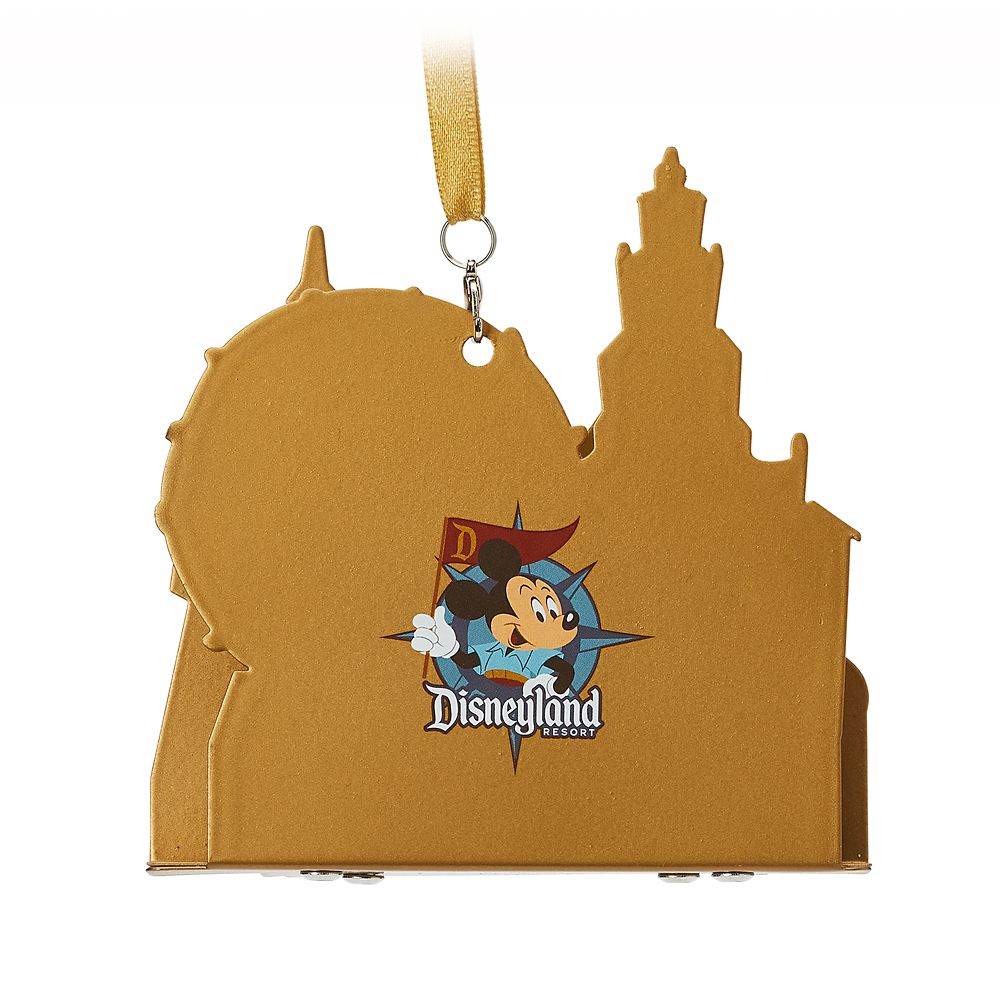 Mickey and Minnie Mouse Diorama Ornament – Disneyland