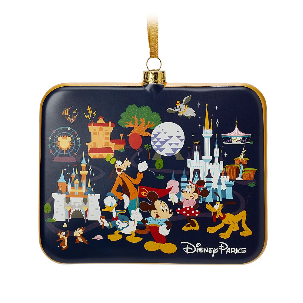 Mickey Mouse and Friends Disney Parks Ornament