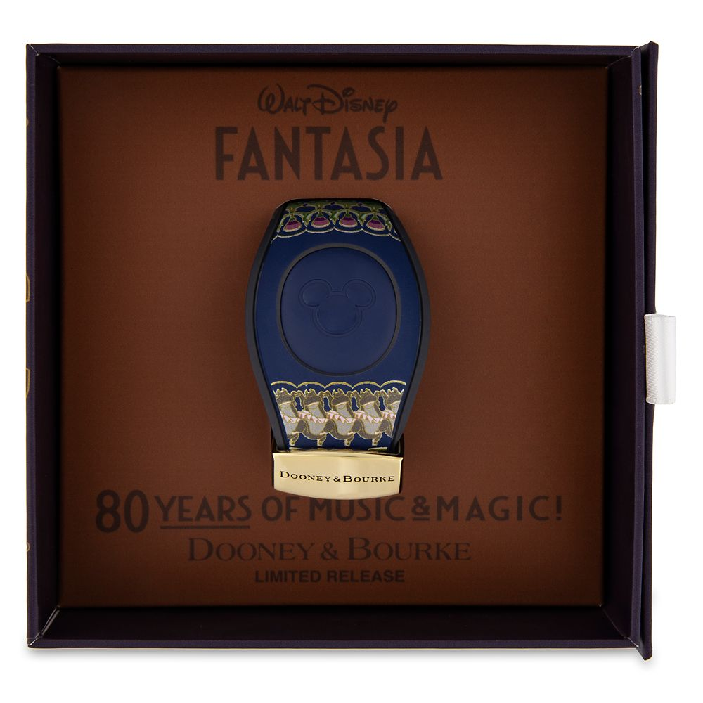 New Disney Parks Dooney /& Bourke Fantasia 80th Anniversary Magicband Magic Band