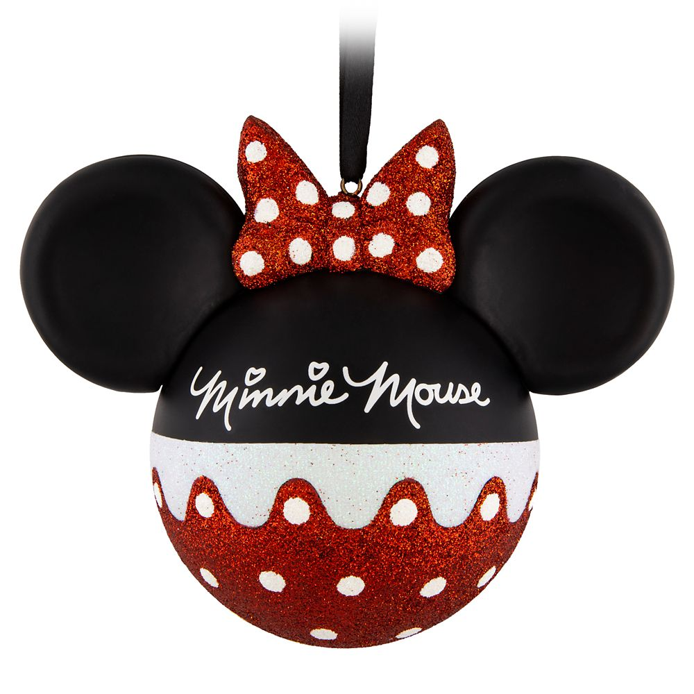 I Am Minnie Mouse Ball Ornament