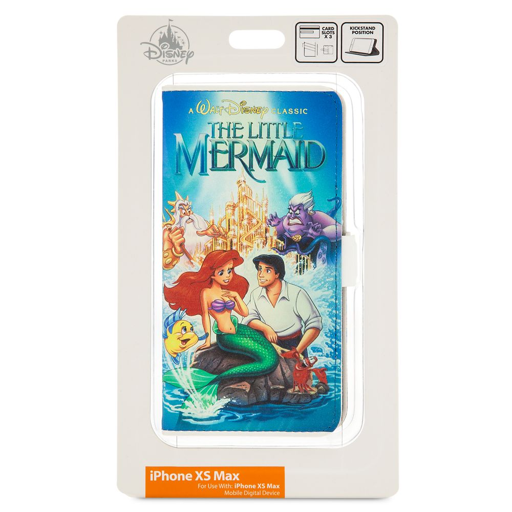 The Little Mermaid VHS Cover iPhone Xs Max Case