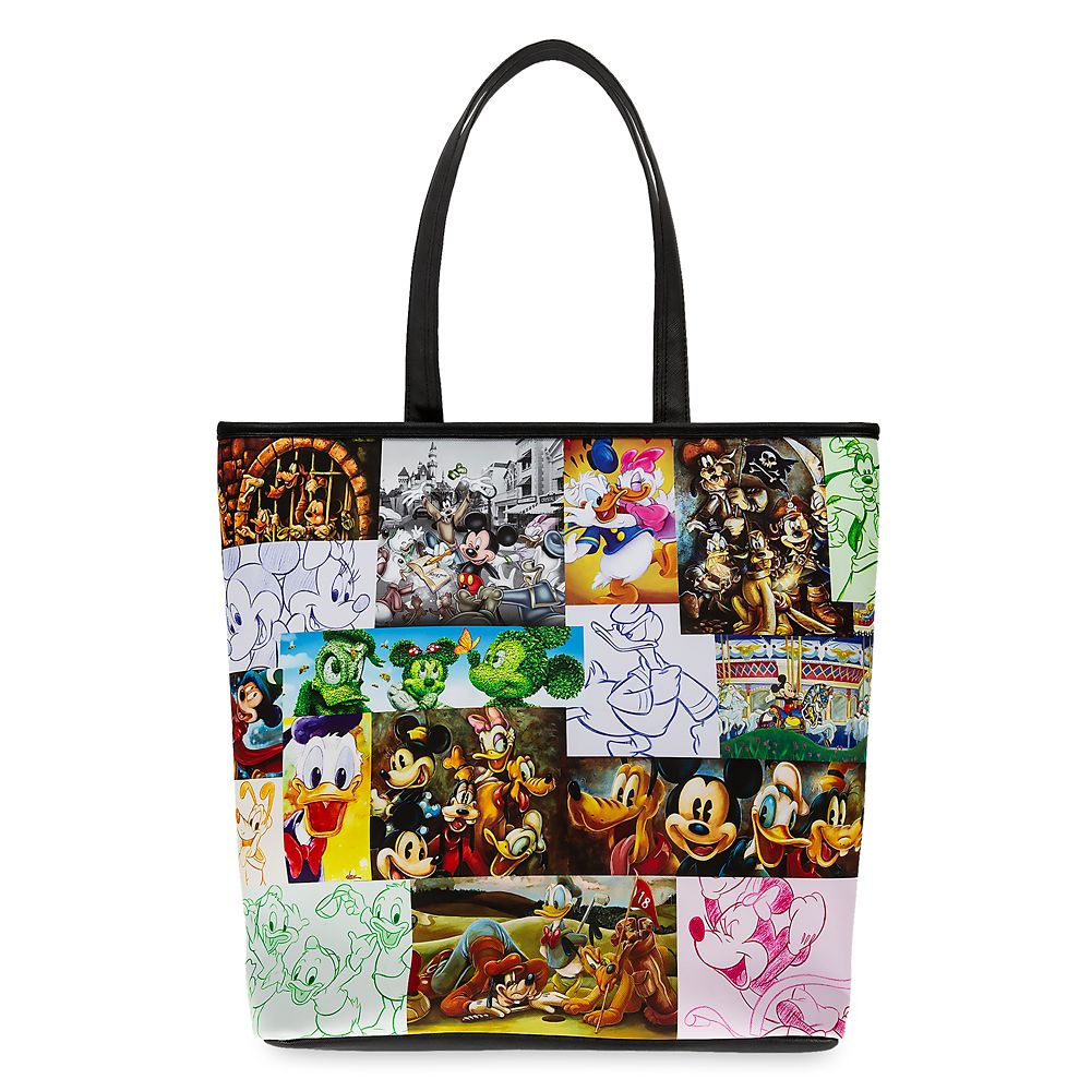 Mickey Mouse and Friends Tote Bag by Loungefly