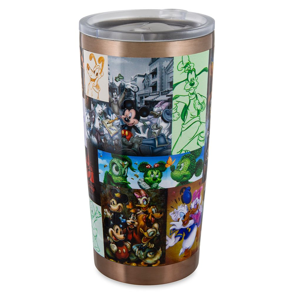 Mickey Mouse and Friends Travel Tumbler