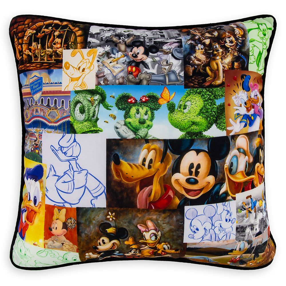 Mickey Mouse and Friends Pillow
