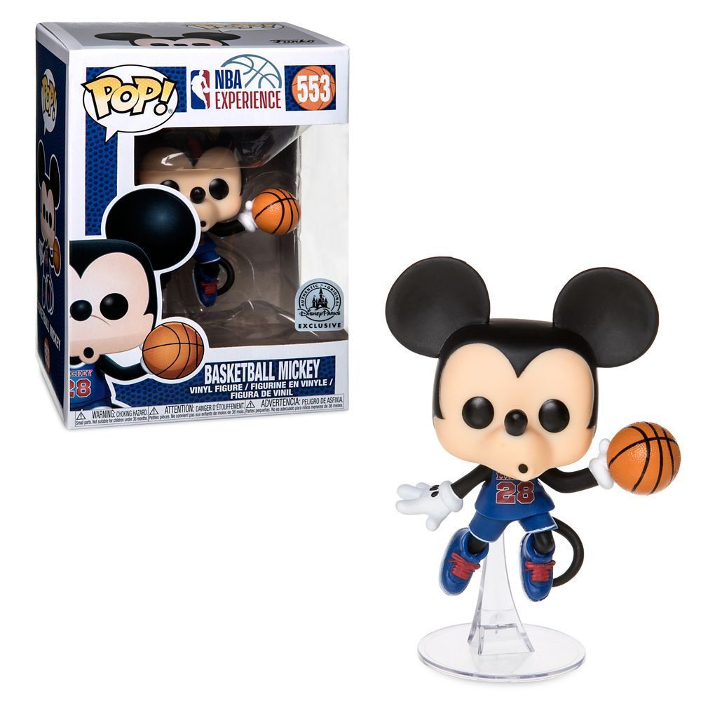 Basketball Mickey Mouse Pop! Vinyl Figure by Funko – NBA Experience