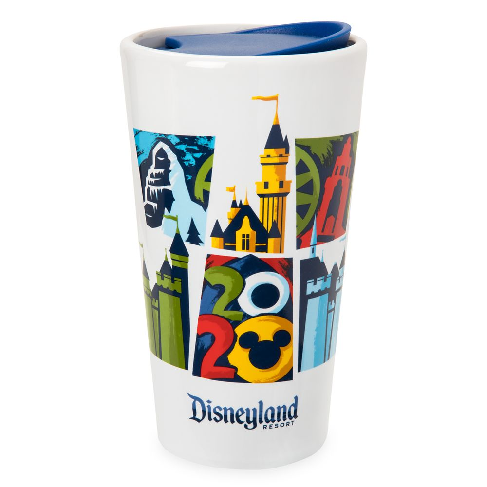Disneyland 2020 Ceramic Travel Tumbler