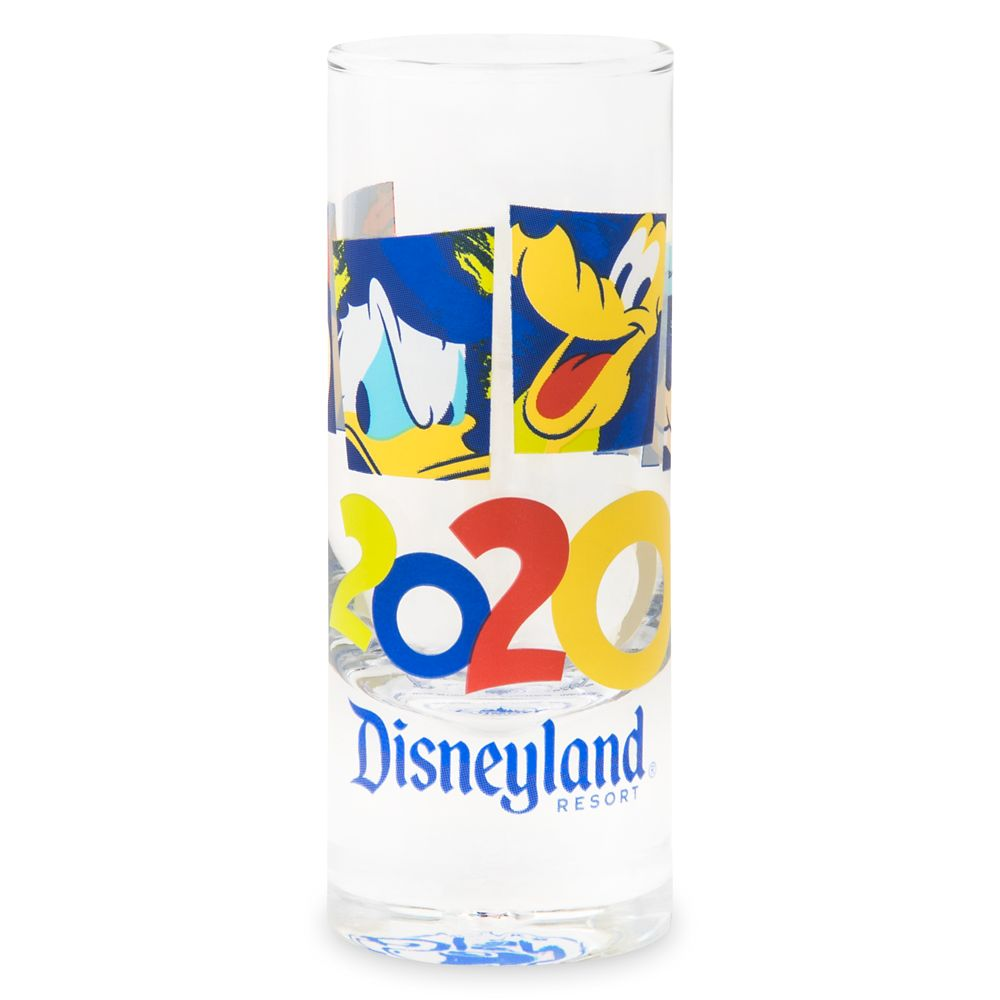 Mickey Mouse and Friends Mini Glass – Disneyland 2020