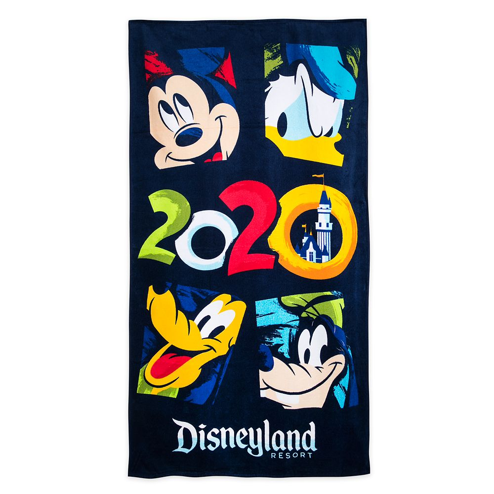 Mickey Mouse and Friends Beach Towel – Disneyland 2020