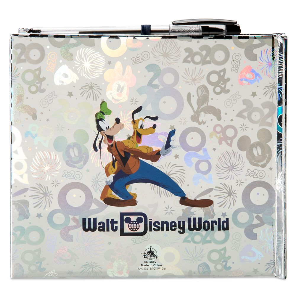 Mickey Mouse and Friends Autograph Book – Walt Disney World 2020