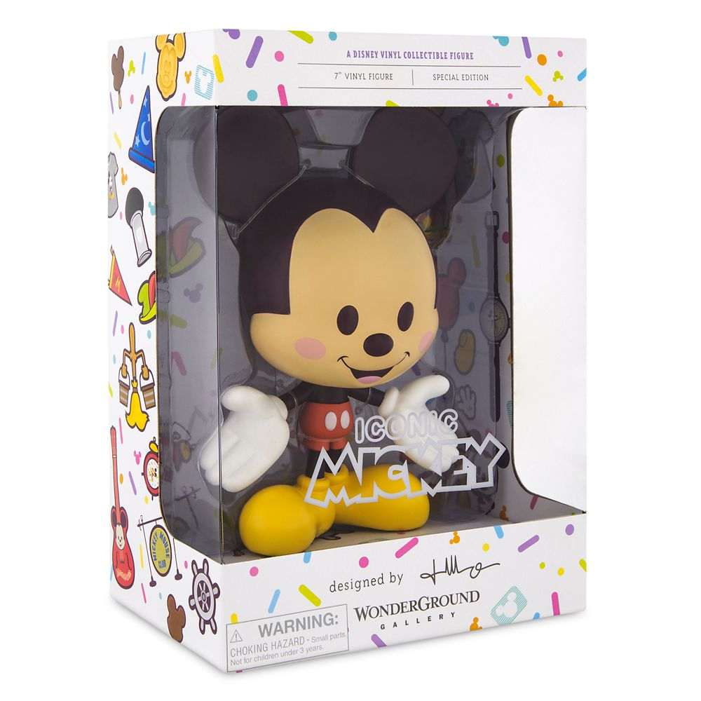 Mickey Mouse ''Iconic Mickey'' Vinyl Collectible Figure by Jerrod Maruyama