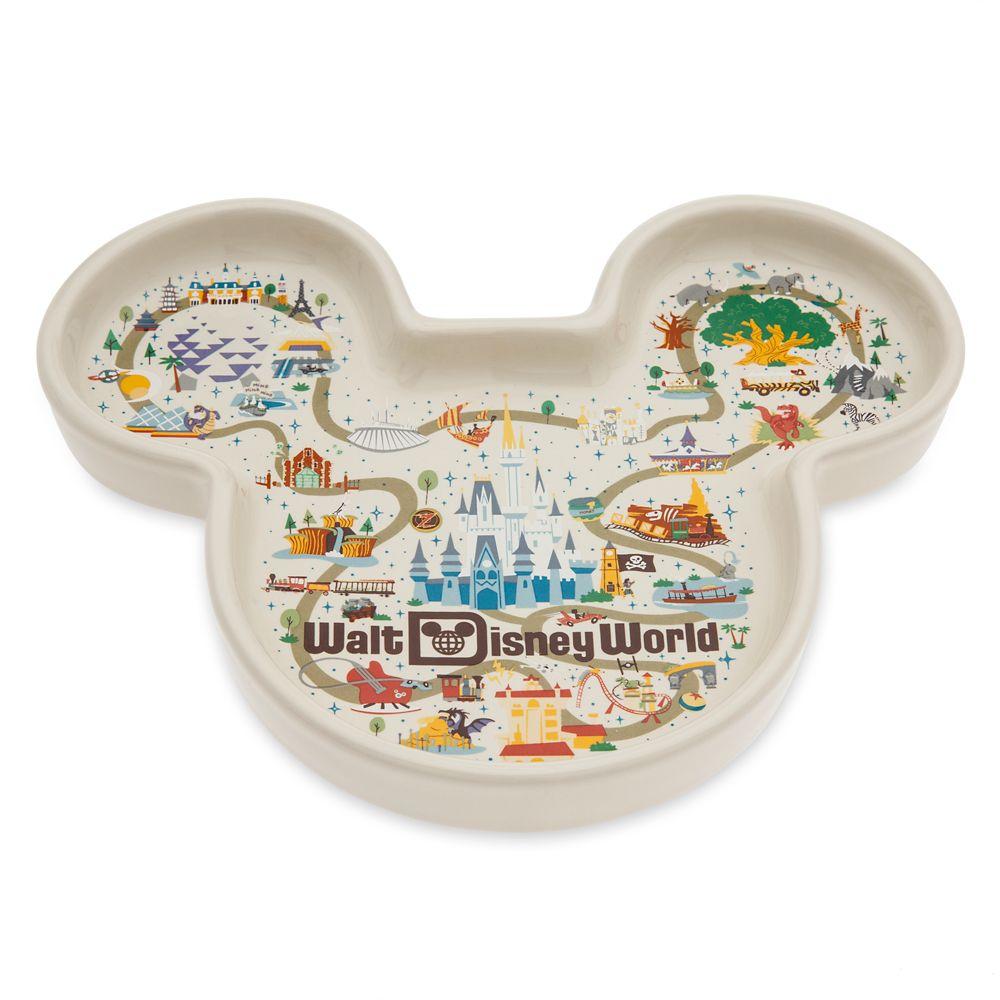 Mickey Mouse Icon Trinket Dish – Walt Disney World