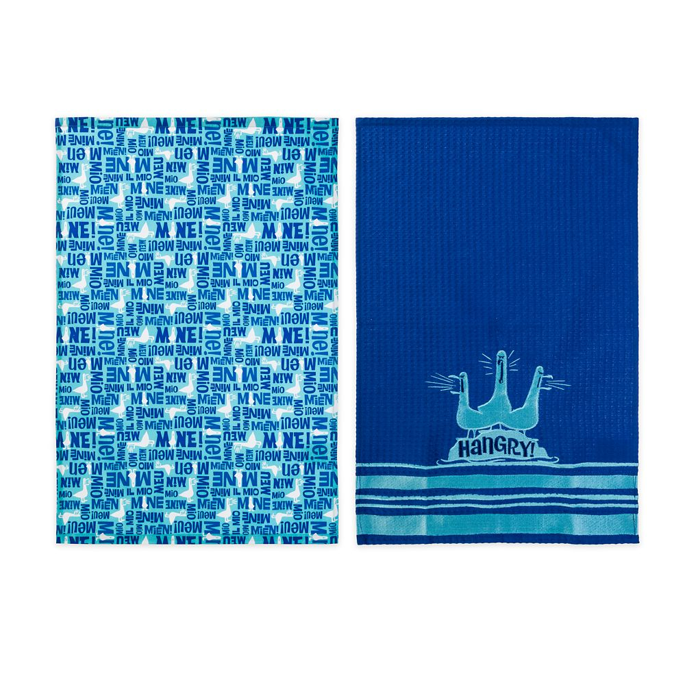 Finding Nemo Seagulls ''Mine Mine Mine Mine'' Kitchen Towel Set