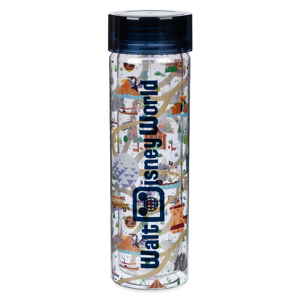 Mickey and Minnie Mouse Water Bottle – Walt Disney World