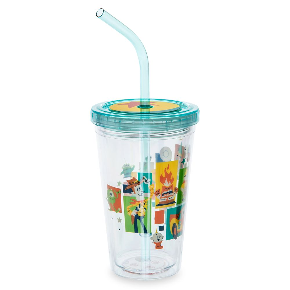 Pixar Tumbler with Straw – Small