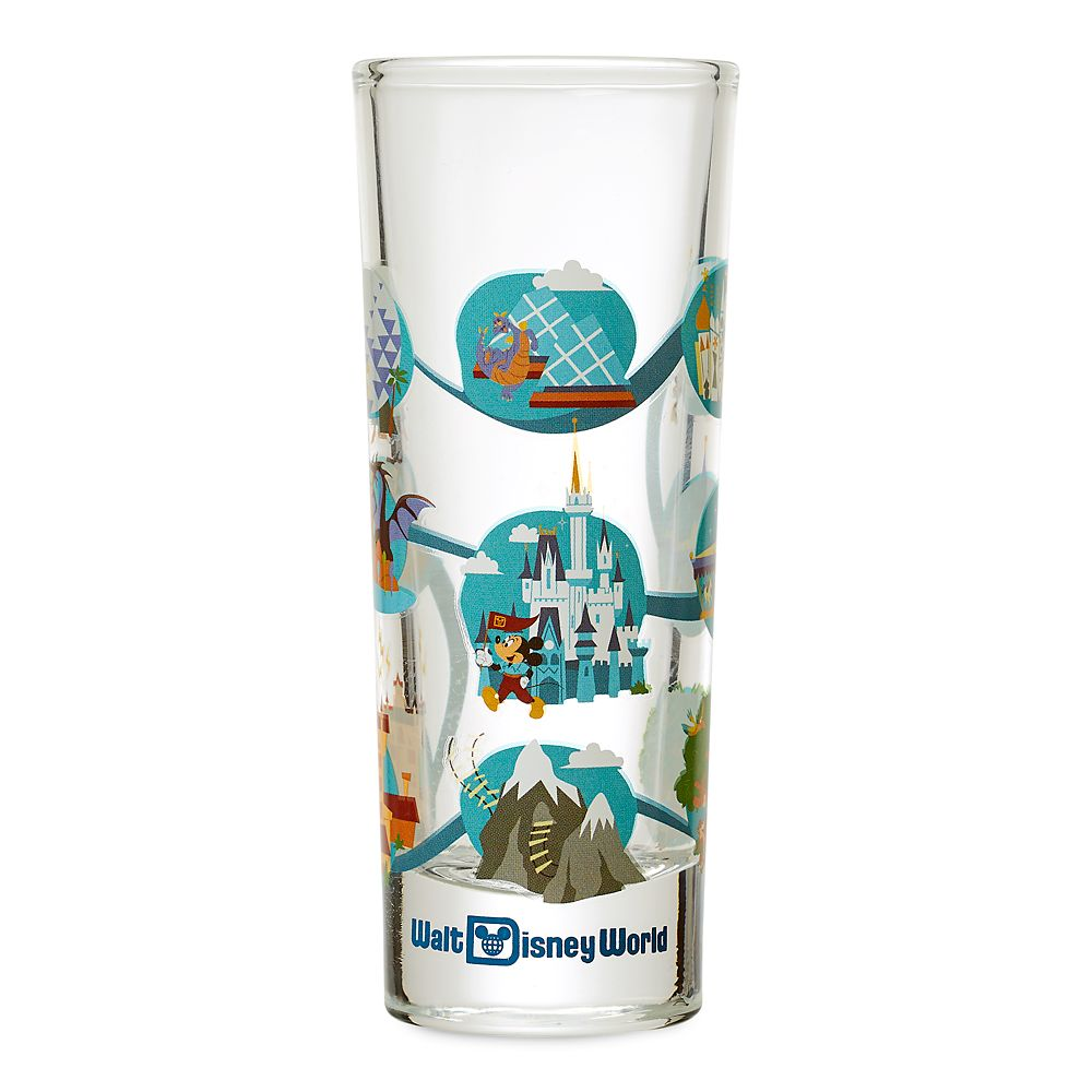 Mickey Mouse and Friends Mini Glass – Walt Disney World