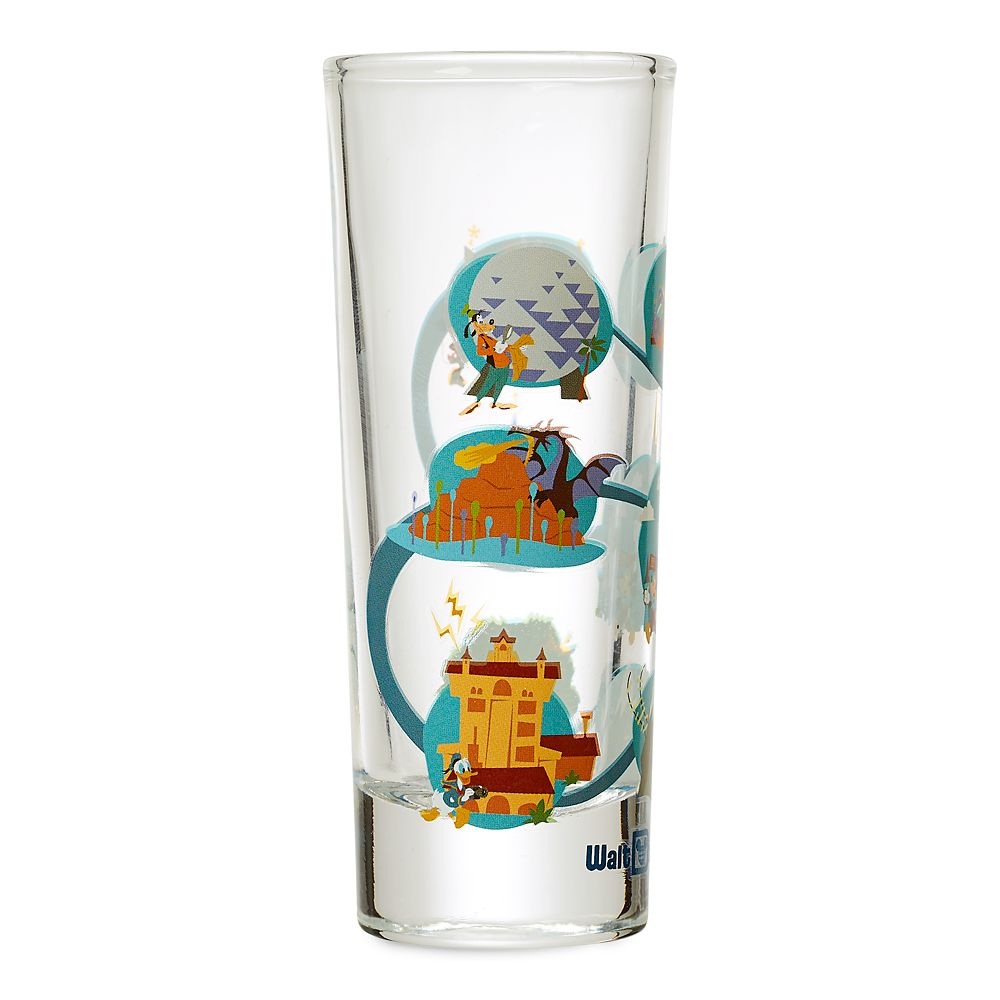 Mickey Mouse and Friends Mini Glass – Walt Disney World