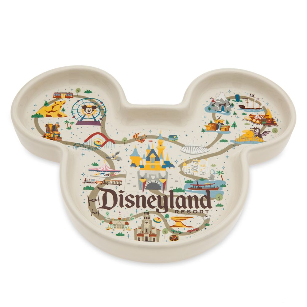 Mickey Mouse Icon Trinket Dish – Disneyland