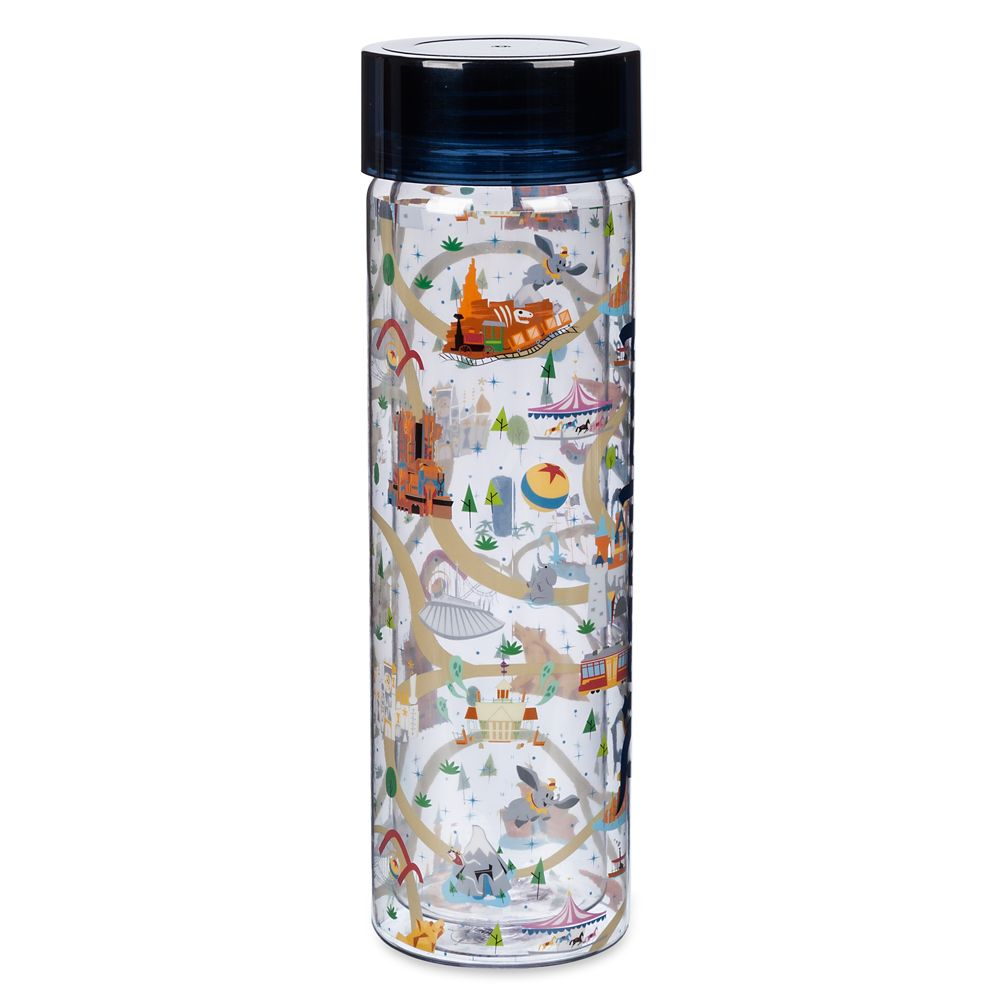 Mickey and Minnie Mouse Water Bottle – Disneyland