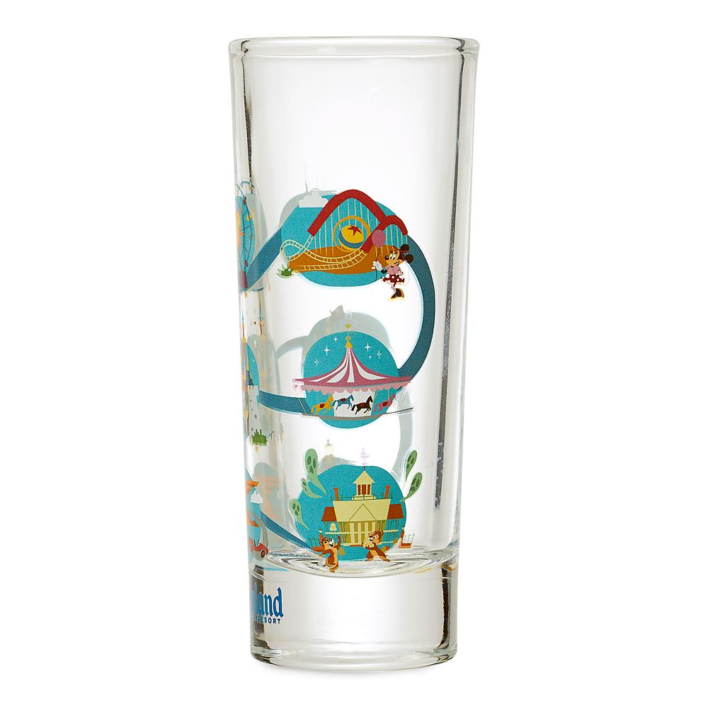 Mickey Mouse and Friends Mini Glass – Disneyland