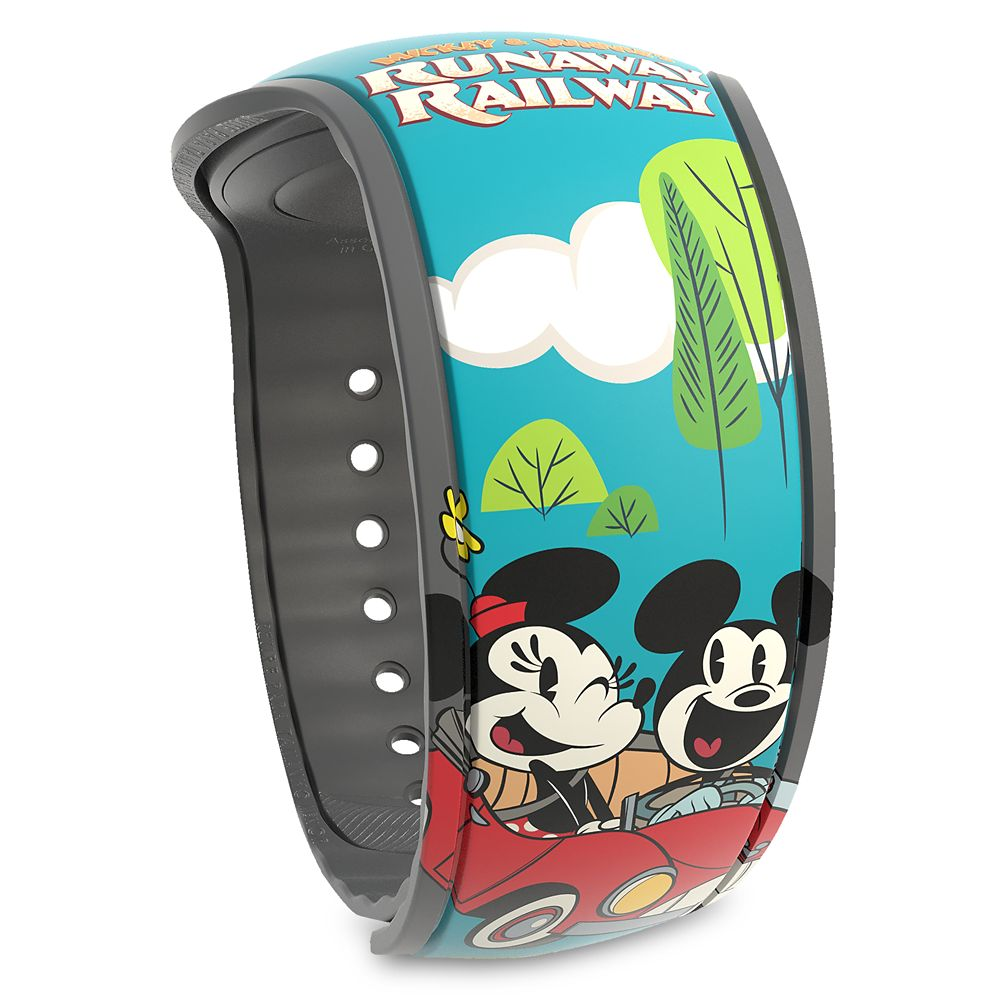 Mickey and Minnie Mouse Runaway Railway MagicBand 2 – Limited Release