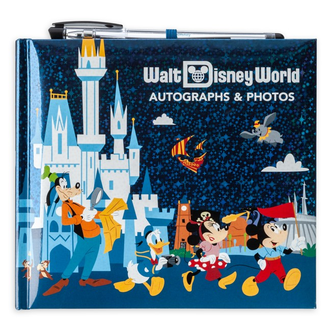Mickey Mouse and Friends Autograph & Photo Album with Pen – Walt Disney World