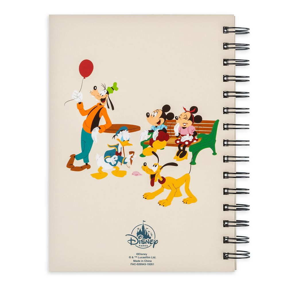 Mickey Mouse and Friends Travel Journal – Walt Disney World