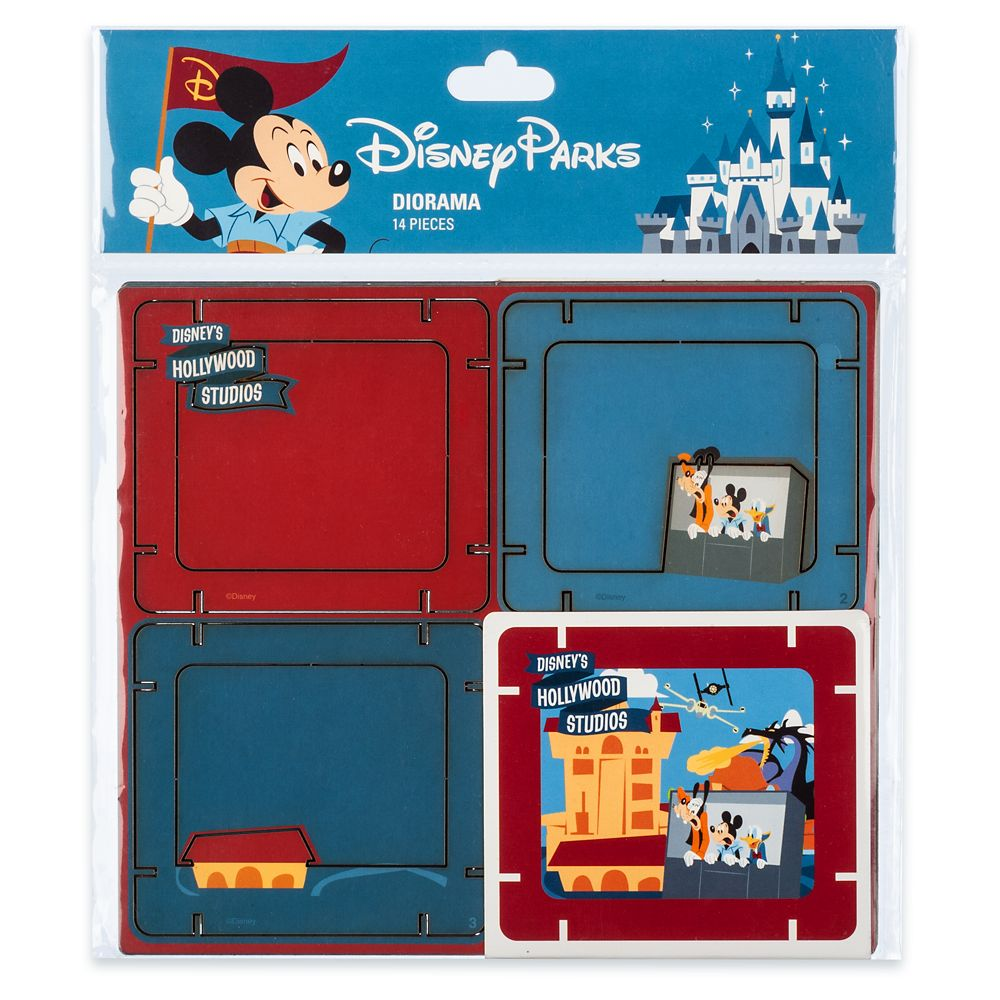 Mickey Mouse and Friends Diorama Kit – Disney's Hollywood Studios